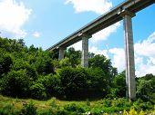 Bridge In The Mountains In Bulgaria
