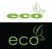 Eco logo.