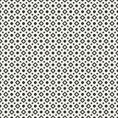 Abstract geometric dot seamless pattern. Vector illustration