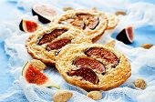 Tartlets With Fig And Almond Cream (frangipane)