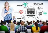 Group of People in Big Data Seminar