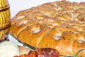 Loaf of garlic bread