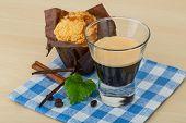 Muffin With Espresso