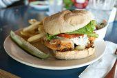 Fried Cod Sandwich