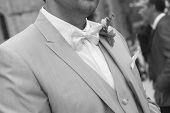 The wedding bow tie