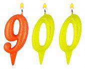 Candles Number Nine Hundred