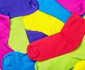Colorful Socks Background
