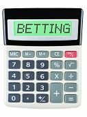 Calculator With Betting