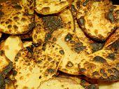 fried sliced potatoes