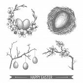 Easter sketch set.
