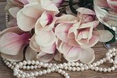 pic of magnolia  - wedding decorations   - JPG