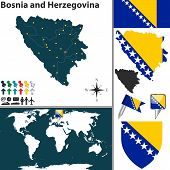 Map Of Bosnia And Herzegovina