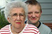 Grandmother Grandson Portrait 2