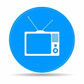 TV vector icon
