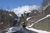 Ticino (switzerland) - Via S. Gottardo With Snow