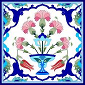 Artistic Ottoman Pattern Series Seventy One