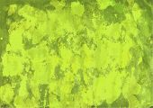 Green-yellow Watercolor Background