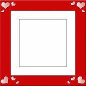 Heart Shaped Frame For Photographs.