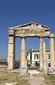 Roman agora and Library of Hadrian Augustus at Athens, Greece
