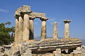 Antigo Corinto, Templo de Apolo, Peloponeso, Grécia