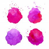 Watercolor Splashes.