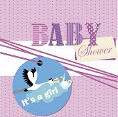 baby shower it's a girl