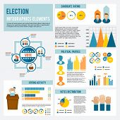Election Icon Infographic