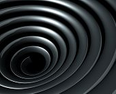 Abstract background. Abstract illustration of 3d spiral
