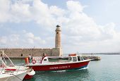Lighthouse Of Rethymno, Crete, Greece
