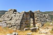 Ancient Greek pyramid