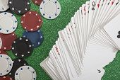 Playing Cards, Casino Concepts
