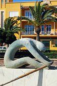 Rower statue, Almeria.
