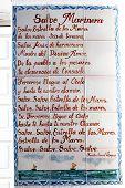 Mariners Poem, Almerimar.