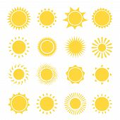 picture of morning  - Sun icons collection - JPG
