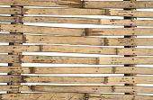Old Split Bamboos Background