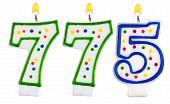 Candles Number Seven Hundred Seventy-five