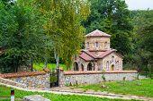 stock photo of macedonia  - Church at Saint Naum Monastery near Ohrid in Macedonia - JPG
