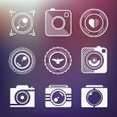 Set Of Vector Icons Photo