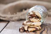 Heap Of Brazil Nuts