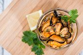 Mussels (with Fresh Herbs)