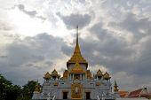 Wat Traimit temple in Chinatown, Bangkok, Thailand