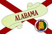 Alabama Scroll