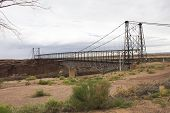 Old Iron Bridge On The Road To Grand Canyon
