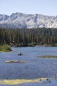 Landscape Of Mammoth Lake, California