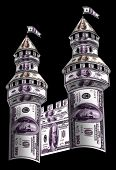 Towers Made From Dollars