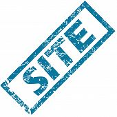Site rubber stamp