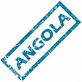 Angola rubber stamp