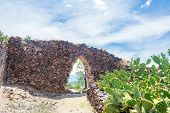 Wari Ruins In Peru