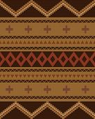 Seamless Abstract Ethnic Ornament