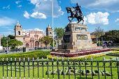 Plaza De Armas In Ayacucho, Peru